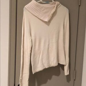 🍎cream sweater